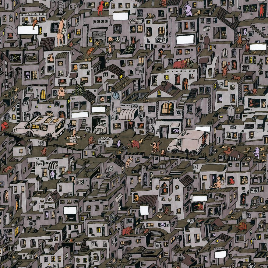 It-Takes-Me-Over-150-Hours-To-Draw-These-Intricate-Cityscape8__880