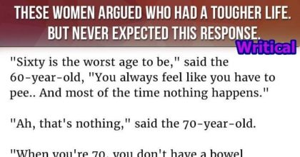 worst age