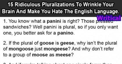 pluralizations