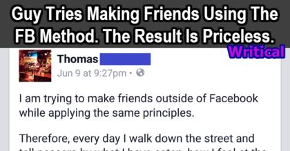 Facebook method