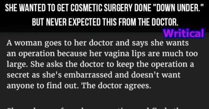 secretive cosmetic surgery