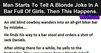 old blind cowboy