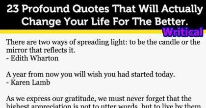 23 quotes