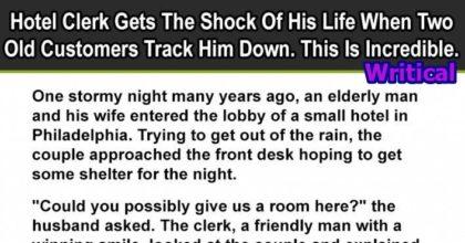 hotel clerk