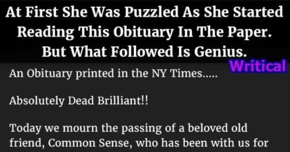 hilarious obituary