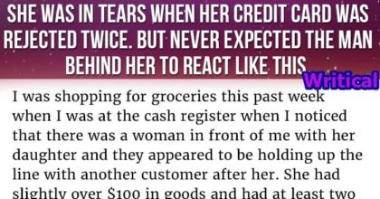 credit cards were rejected