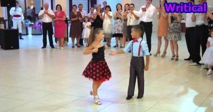 Cute kid dancers