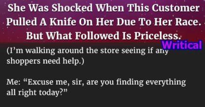 Racist customer