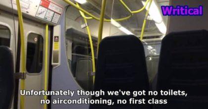 Best train announcement