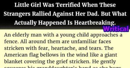Terrified girl