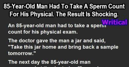 85 year old man
