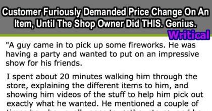 Furious customer