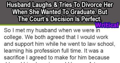 husband laughed