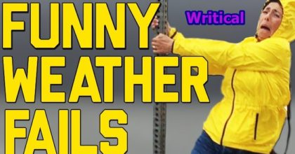 hilarious weather fail compilations
