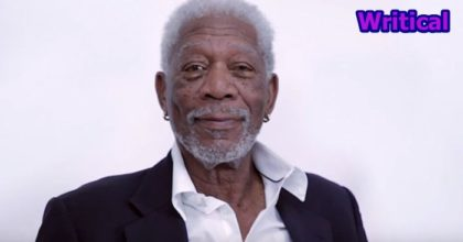 Morgan Freeman reads Justin Bieber song