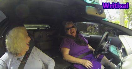 Grannies Rolling in Lamborghini