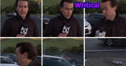 lucky reporter