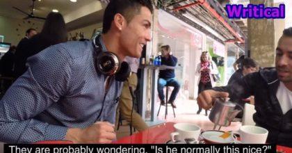 Cristiano Ronaldo goes Out for Tea