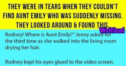 missing aunt