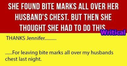 Cheating husband caught