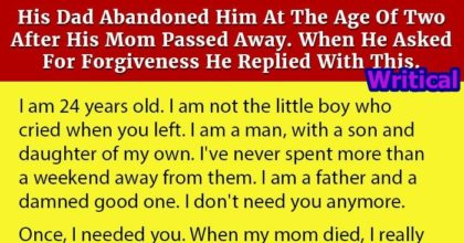 Abandoned Son Writes to His Father