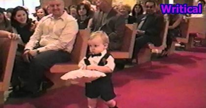 cute little ring bearer