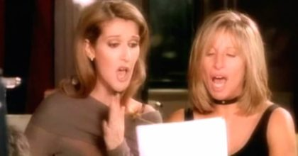 Barbra Streisand and Céline Dion beautiful duet