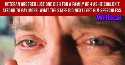 Poor Veteran Family was speechless when the staff did this
