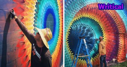 Street Art in Kaleidoscope by Douglas Hoekzema!