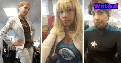 June's Funny 'Unprofessional' Cosplay outfit pictures