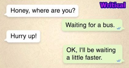 Funny text messages that will brighten your day