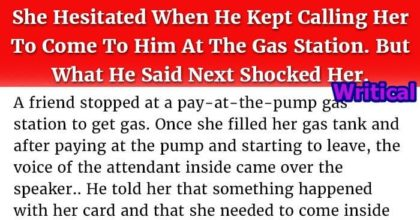 Hesitant Woman and the Man at Gas Station!
