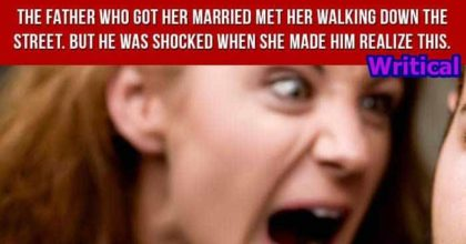 Priest greeted this woman and asked her about children, but years later this happened
