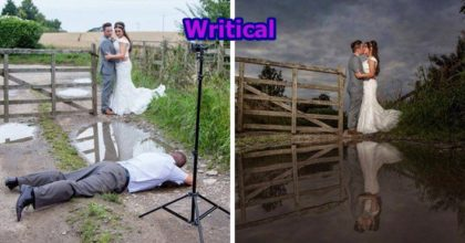 Wedding photographers can turn crazy
