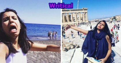 A woman enjoys her Honeymoon without her husband and posted some cutest pictures