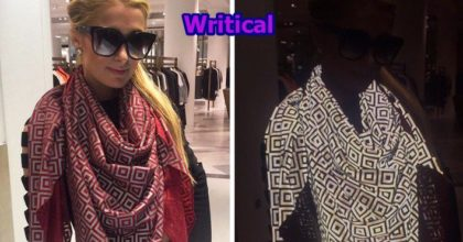 Avoid Flash Photography and Ruin Photos with Anti Paparazzi Scarf