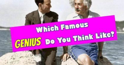famous genius