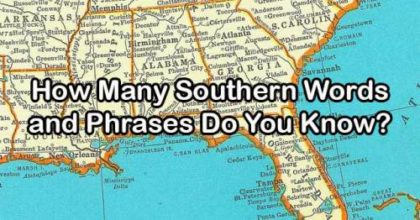 southern words