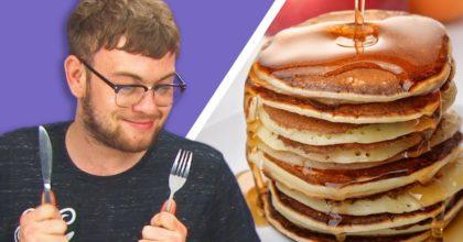 test American pancakes